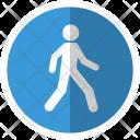 Map Walking Street Icon