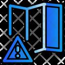 Map Warning Icon