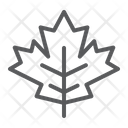 Maple Leaf Thanksgiving Icon