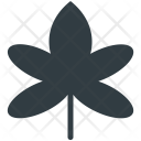 Maple Leaf Winter Icon