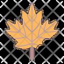 Maple Leaf Fall Icon