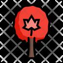Maple Tree Plant Icon