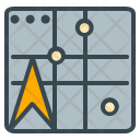 Map Navigation Pin Icon