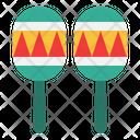 Maracas Music Instrument Native American Icon