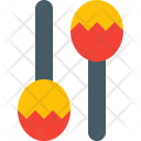 Maracas Music Equipment Icon