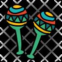 Maracas Toy Icon