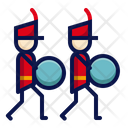 Marching band bass drum Icon
