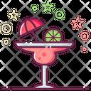 Margarita Martini Fizzy Drink Icon