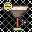 Margarita Cocktial Mocktail Icon