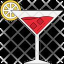 Margarita Cocktail Lemonade Icon