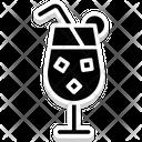 Margarita Mocktail Lemonade Icon