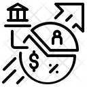 Margin Graph Margin Graph Icon