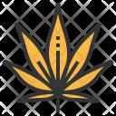 Marijuana Leaf Greenery Icon