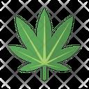 Ganja Leaf Marijuana Icon