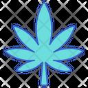 Marijuana Weed Cannabinoid Icon