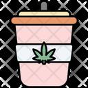 Cup Cannabis Cannabidiol Icon