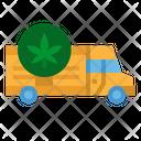 Marijuana Delivery Truck Marijuana Delivery Marijuana Icon