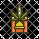 Marijuana Drive Through Icon