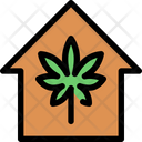 Marijuana House Icon
