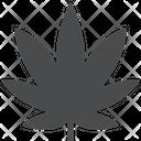Marijuana Leaf Icon