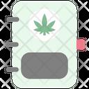 Book Cannabis Cannabidiol Icon