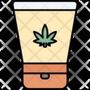 Body Lotion Cannabis Cannabidiol Icon