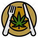 Marijuana Meal Recipes Icon