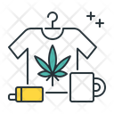 Marijuana Merchandise Marijuana Cannabis Icon