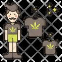 Marijuana Merchandise Icon