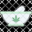 Marijuana Mortar Icon