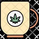 Mug Cannabis Cannabidiol Icon