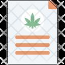 Marijuana Report Icon