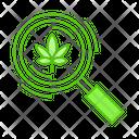 Marijuana Research Icon
