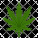 Marijuana Sativa Cannabis Icon