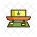 Marijuana Scale Icon