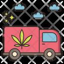 Marijuana Shipping Icon