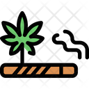 Marijuana Smoke Icon