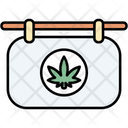 Store Cannabis Cannabidiol Icon