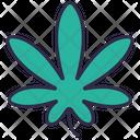 Marijuanas Cannabis Weed Icon