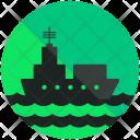 Marine Transportation Ship Icon