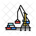Marine Container Icon