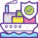 Marine Delivery Protection Icon