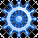 Marine Wheel Helm Icon
