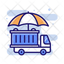 Marine Insurance Transportation Icon