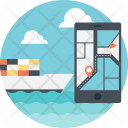Navigation Ship Tracking Icon