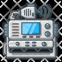 Radio Marine Communication Icon