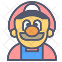 Mario Luigi Arcade Icon
