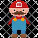 Mario Character Man Icon