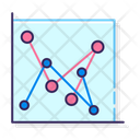 Marked Line Chart Marked Scatter With Straight Lines Marked Scatter Icon