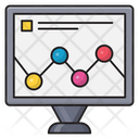 Graph Chart Analytic Icon